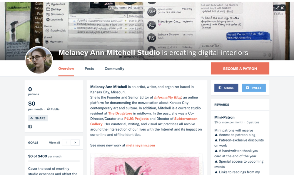 Find me on Patreon!   https://www.patreon.com/melaneyannmitchell_studio