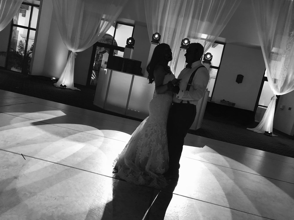 SPOT LIGHT DANCES  - Why not be the center of attention during your first dance with a custom spot light dance.