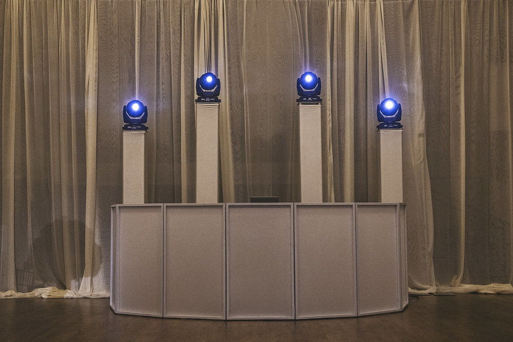 Standard Service$ 1000 - Up to 6 Hours Of ServiceHigh-End Pro Audio Sound SystemLED Intelligent Dance Floor lightingProfessional DJProfessional MCWireless MicrophoneDinner/Cocktail Hour MusicDJ FACADE