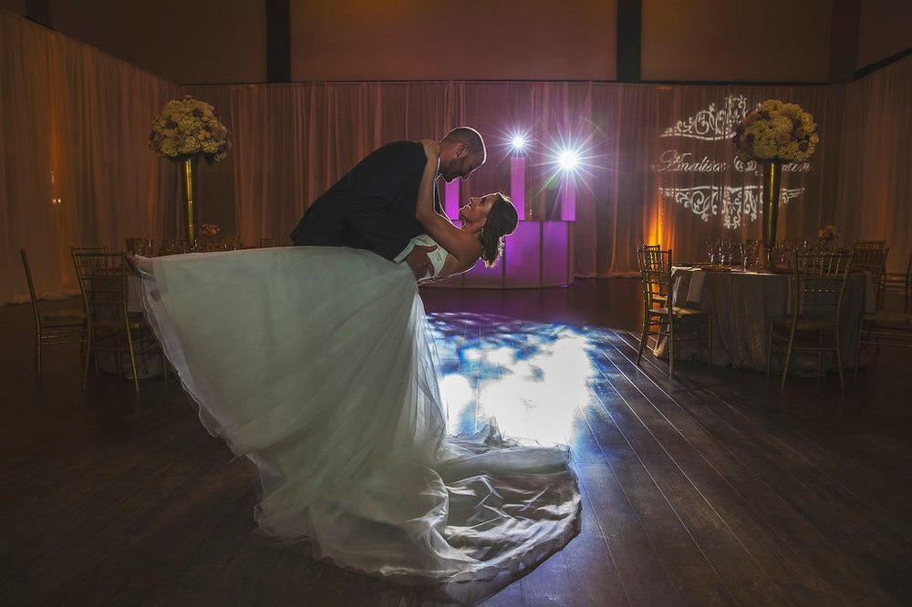 WEDDINGS - From the ceremony to the reception we know the important role that music plays on your Wedding Day. We take pride in producing a detail oriented and fun entertainment experience for our couples and there guests.