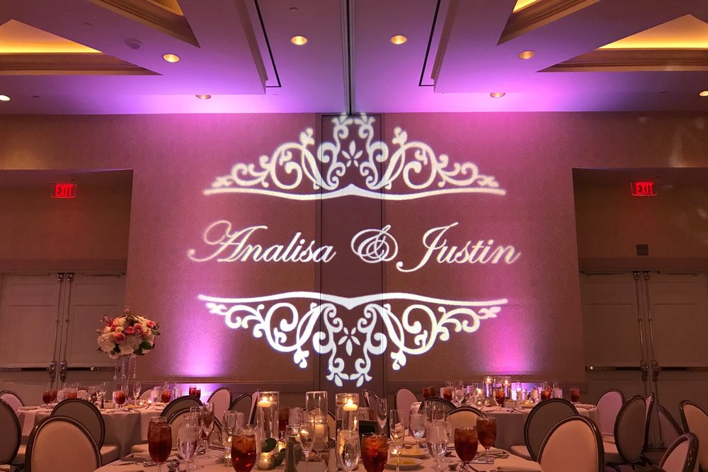 MONOGRAM DISPLAY - A MONOGRAM IS A SPECIAL AND UNIQUE WAY TO PERSONALIZE YOUR EVENT. THIS UNIQUE AND UNFORGETTABLE TOUCH IS SURE TO TAKE YOUR BREATH AWAY