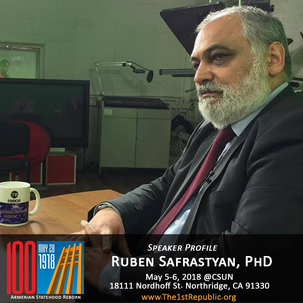 Ruben Safrastyan, PhD