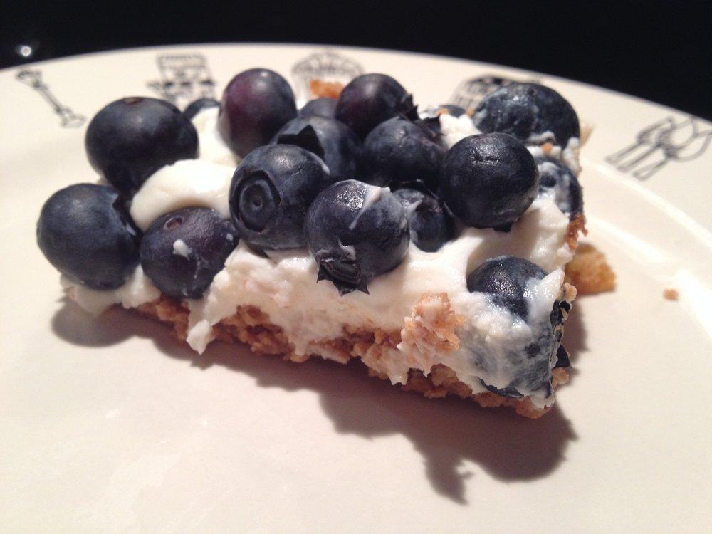 - Honey Graham Blueberry Ginger Tart