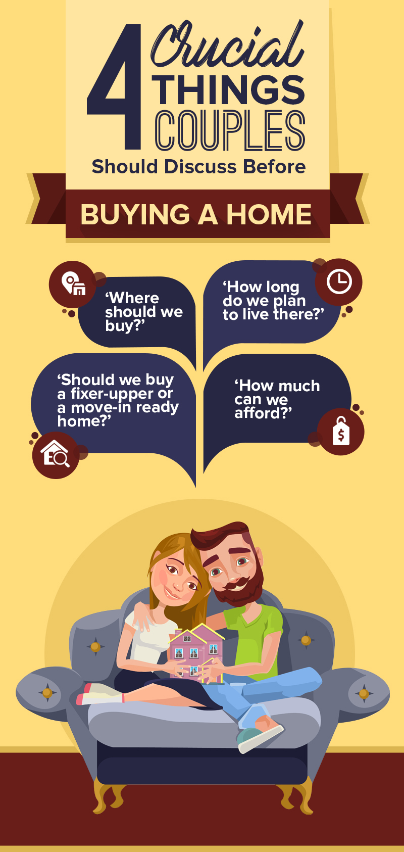 Rings or House Keys? 4 Crucial Things Couples Should Discuss Before Buying A Home