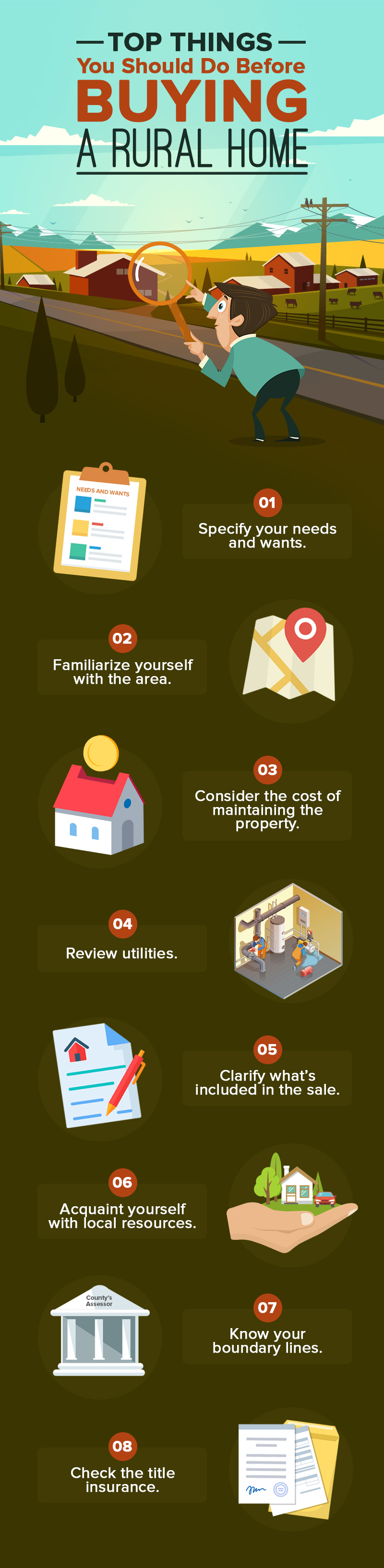 Top Things You Should Do Before Buying A Rural Home