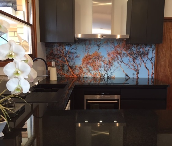 Custom Printed Splashbacks - Bring the outdoors inside