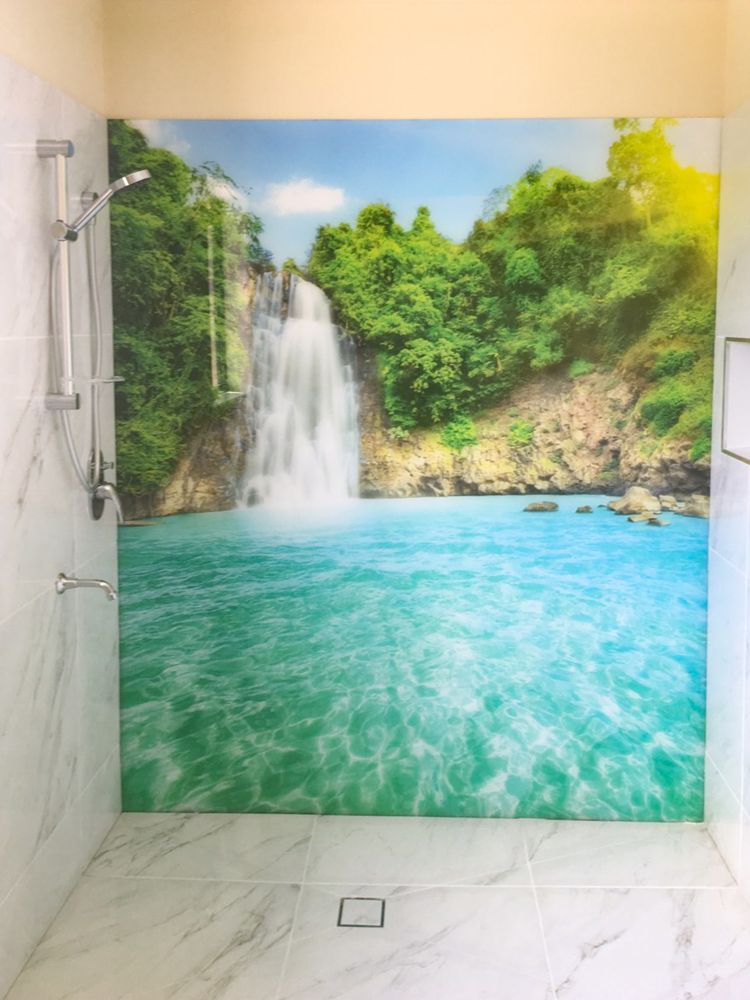 Printed Splashback - Waterfall image