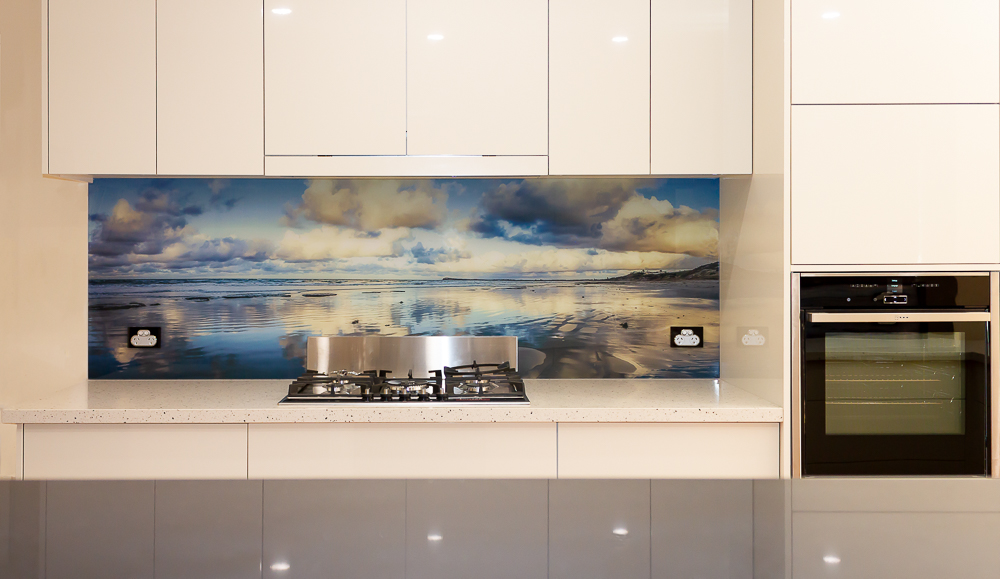 Digital Print Acrylic Kitchen Splashback