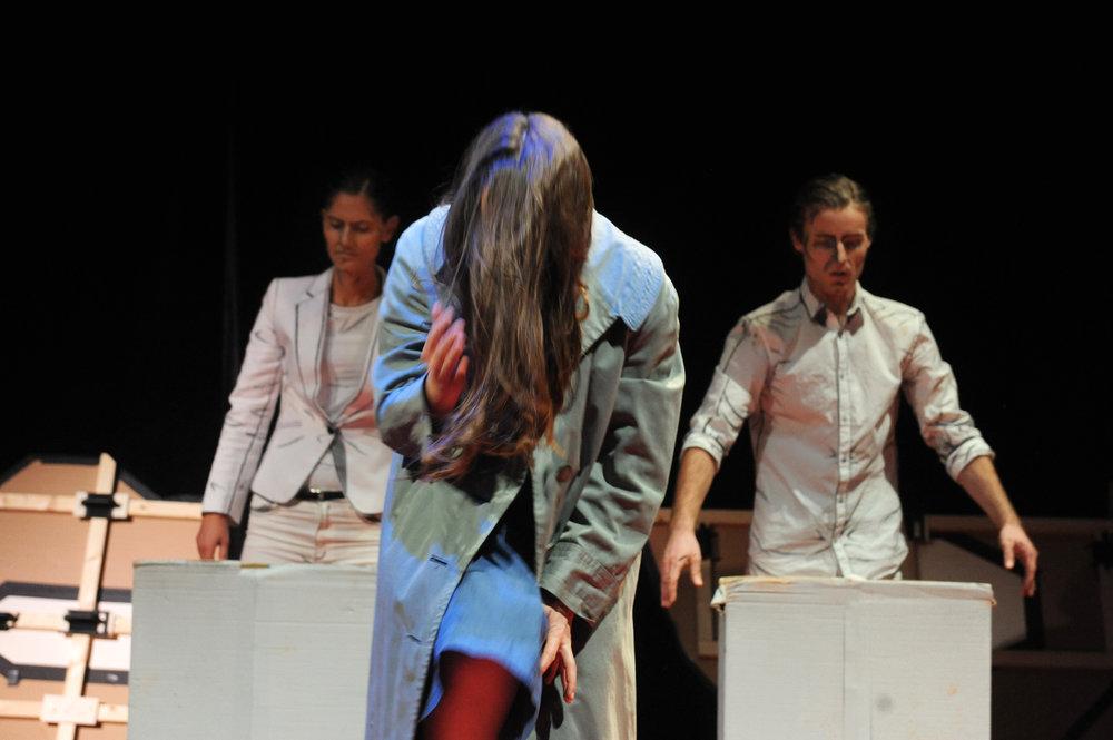 Karin Herrmann, Lena Hilsdorf, Simon Buchegger