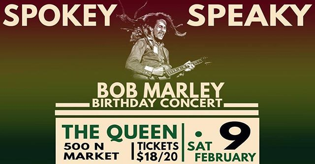 Come out tonight and hang with @spokeyspeaky tickets are still available! . . . #reggae #bobmarley #bobmarleytribute #bobmarleytributeconcert #bobmarleytributeband #thequeen #wilmington #music #livemusic #horns #andrewbedellmusic #spokeyspeaky
