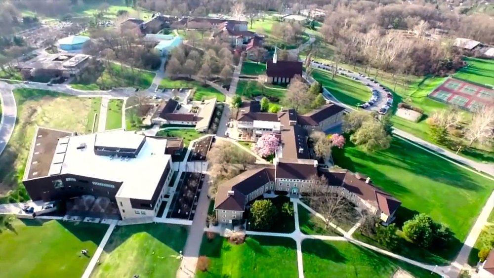 Goucher College Overhead View