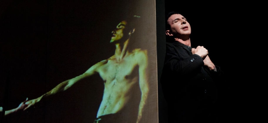 Marc Almond in 'Ten Plagues' at Wilton's Music Hall, London, 2013