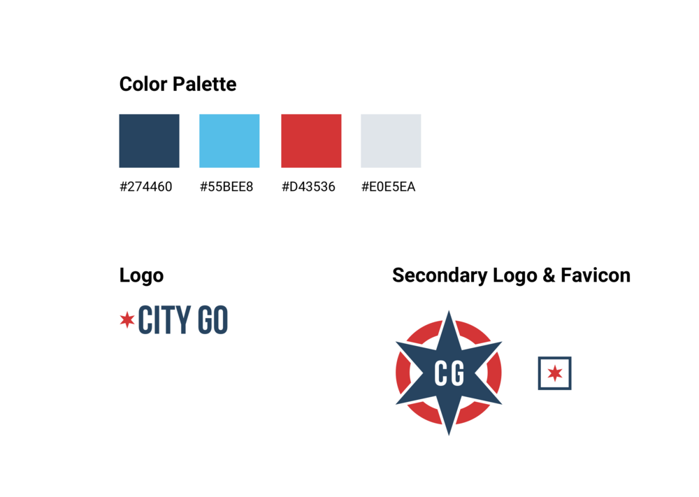 Logo & Branding - When the City-Go team approached us, they were getting ready to launch their brand new website. The only problem was, they didn't have any visual identity. It was important to get the identity and graphics created before the website launch.