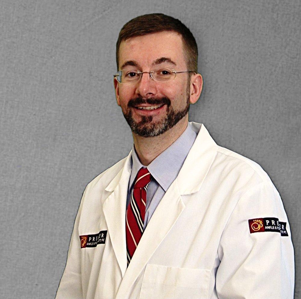 podiatrist Dr. Jeffrey E. Kauffman, DPM, FACFAS