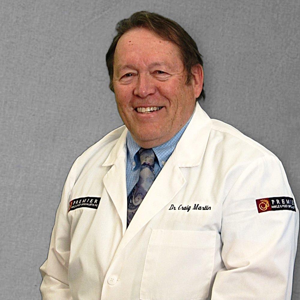 podiatrist Dr. R. Craig Martin, DPM