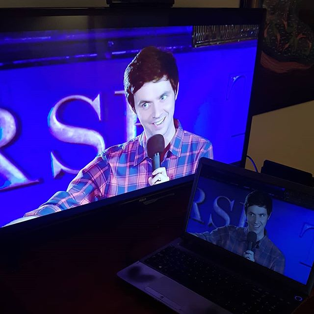 Ya boi's on TV's and laptops (via CBC.ca). Halifax Comedy Festival episode THREE.