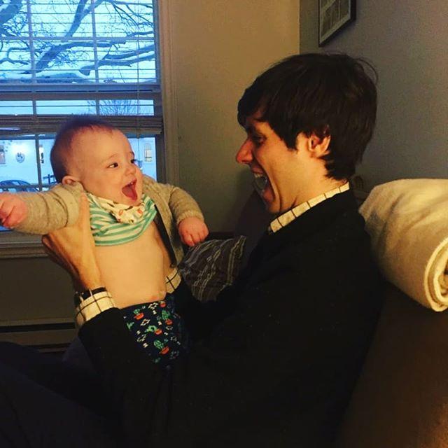 Met a baby.