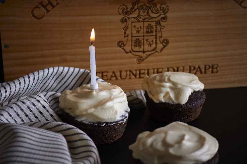 Chocolate & Guinness Cupcakes with Bailey's Frosting - these are great for birthdays and celebrations   In Carina's Kitchen