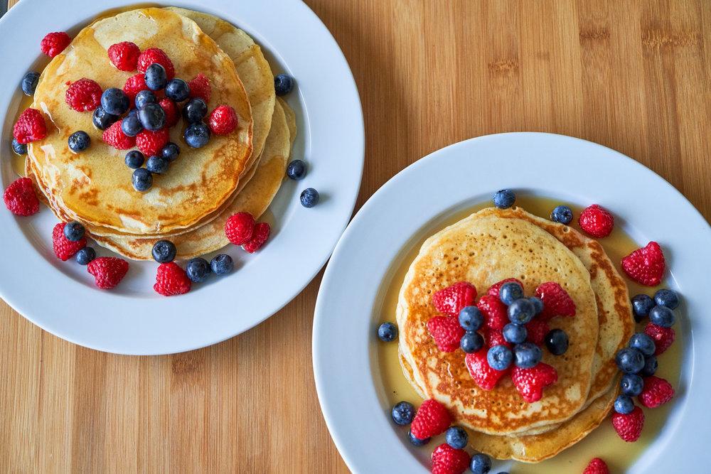 Sourdough Pancakes/Waffles | What To Do With Discard Sourdough - bon appetit! | In Carina's Kitchen