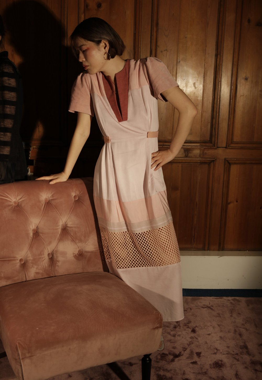 Pale Pink Ethical Dress