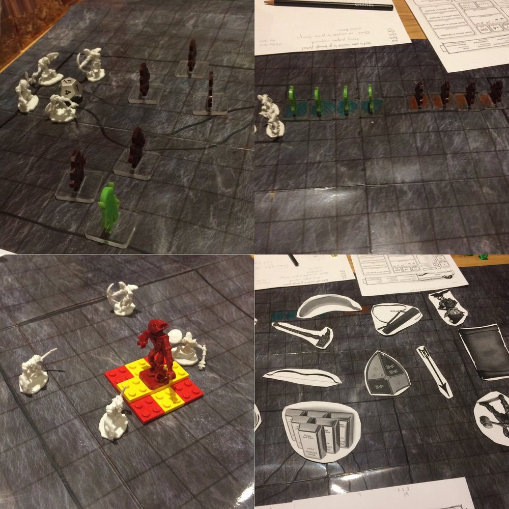 The stages from the 'Trials of Malkier' The Trial of the Boots (Top left), The Trial of the Cloak (Top right), The Trial of the Belt (Bottom left) and The Trial of the Ring (Bottom right).