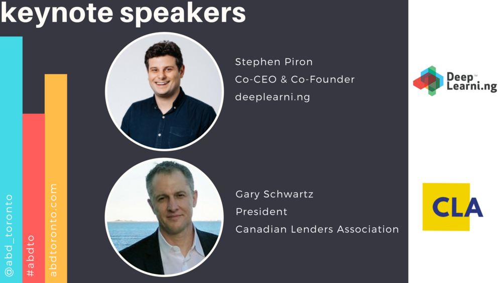 Excited to have 2 fantastic speakers headlining our inaugural conference!