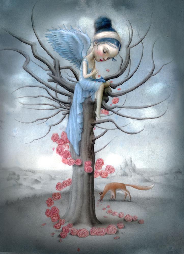 """Blue Bird and the Fox"""