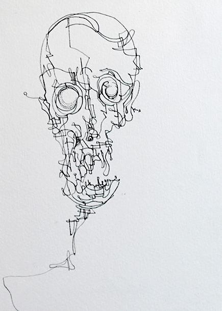"""""""Adult Skull"""""""