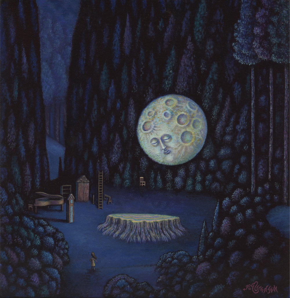 """Conversation With The Harvest Moon"""