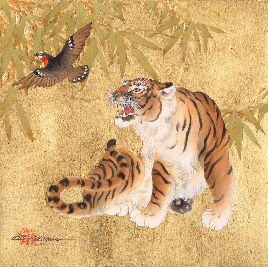"""Tiger And Bird"""