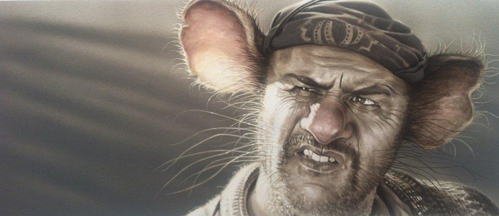 """Tuco Benedicto Juan Maria Ramirez... aka The Rat"""