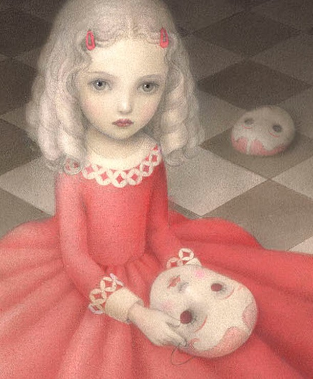 Sneak peak of a new print by Nicoletta Ceccoli (@nicolettaceccoli) that will be debuted in the PlayHouse exhibition, opening Oct. 20th with a reception with the artists from 6-8pm.  The exhibition will feature new prints and original paintings by Nicoletta Ceccoli and Bill Carman (@billcarmanart) and will include a book signing by the artists on Sunday, Oct. 21st from 4-6pm.  For more information, visit our website (link in bio) or email info[at]afanyc.com.  #afanyc