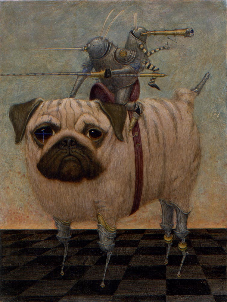 """Fierce Striped Pug"""