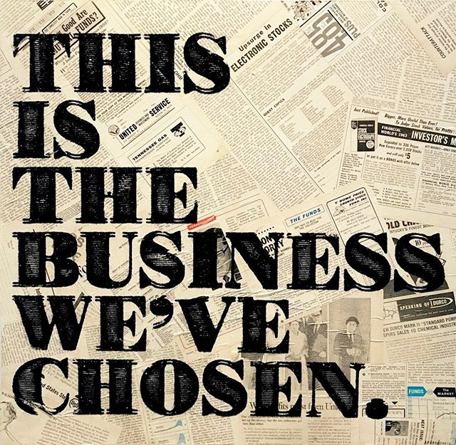 """This is the Business We've Chosen (Forbes Magazine)"", a mixed media piece by Mister E (@mister_e) is on view now in the Breaking News exhibition.  There is still time to see Mister E's work, along with new work by King Saladeen (@kingsaladeen) before the exhibition closes on October 7th. For inquiries, email info[at]afanyc.com or call 212.226.7374 #afanyc"