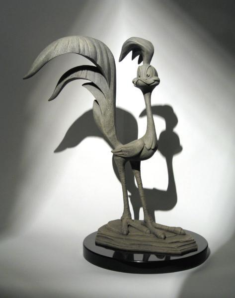 """Road Runner Sculpture"""