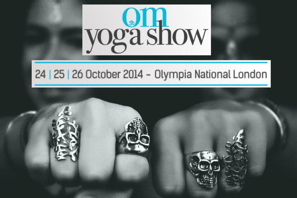 Om Yoga Show, London, 2014