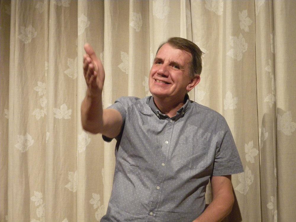 Michael Harvey storyteller blog - Andy Johnson