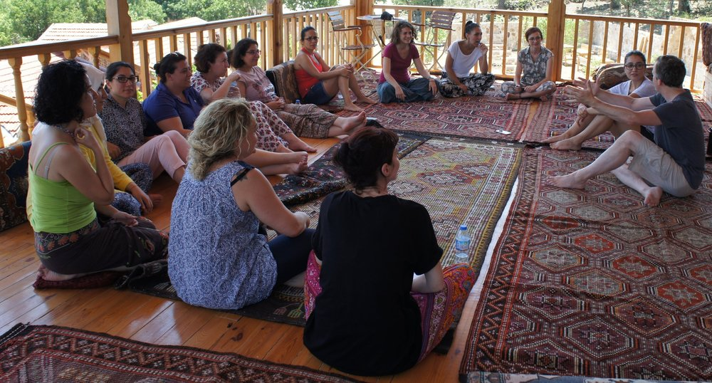 Storytelling workshop in Turkey