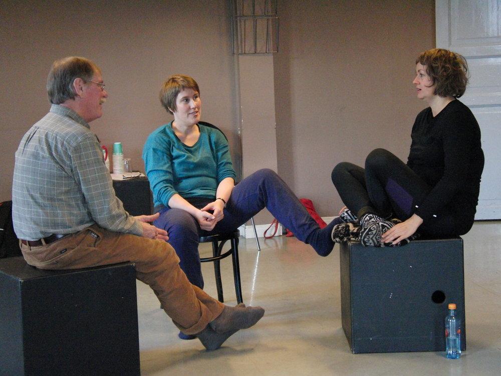 Michael Harvey - storytelling workshop in Tromsø, Norway