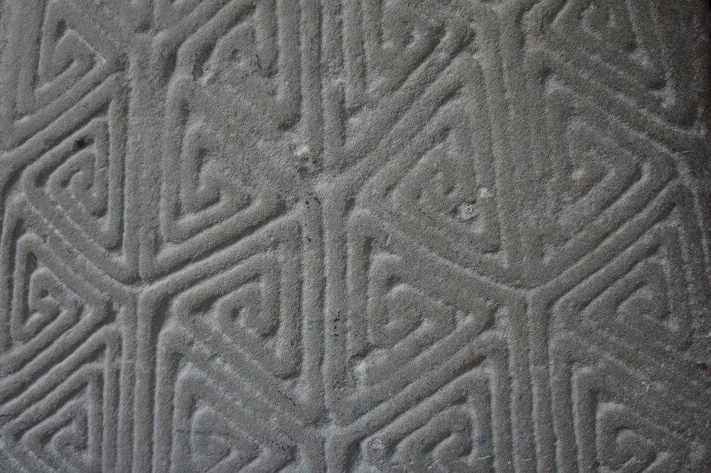 carved stone llanilltud fawr