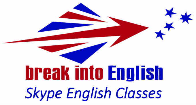 logo Break Into English cours d'anglais par Skype.jpg