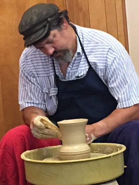 Depiction of The Potter's Hand - Member Tony Badano