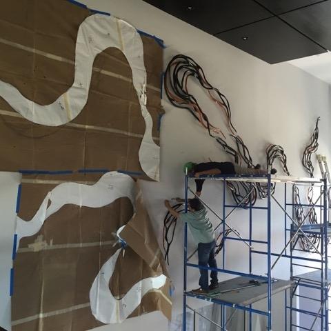 Caprice Pierucci Installation