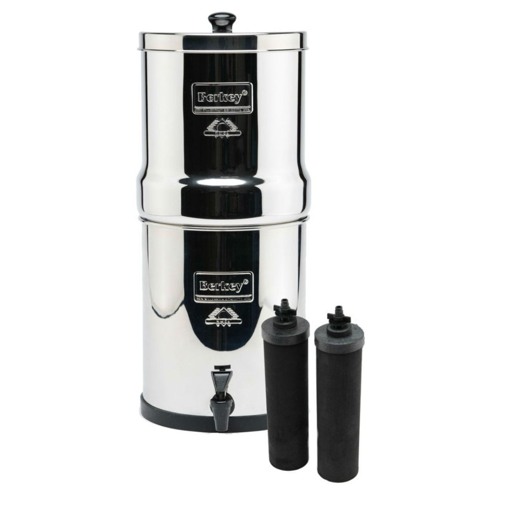 Berkey Water Filter with Fluoride Attachments