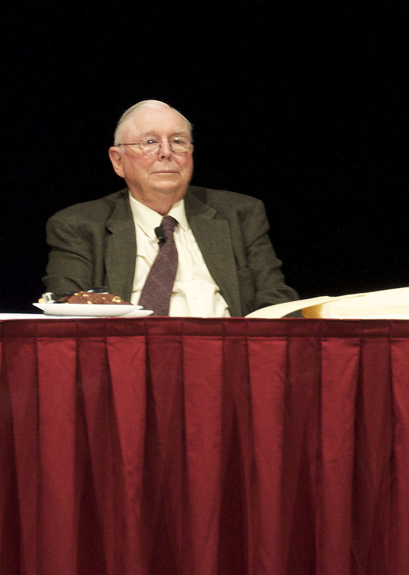 By Nick - Charlie Munger, CC BY 2.0, https://commons.wikimedia.org/w/index.php?curid=10343010