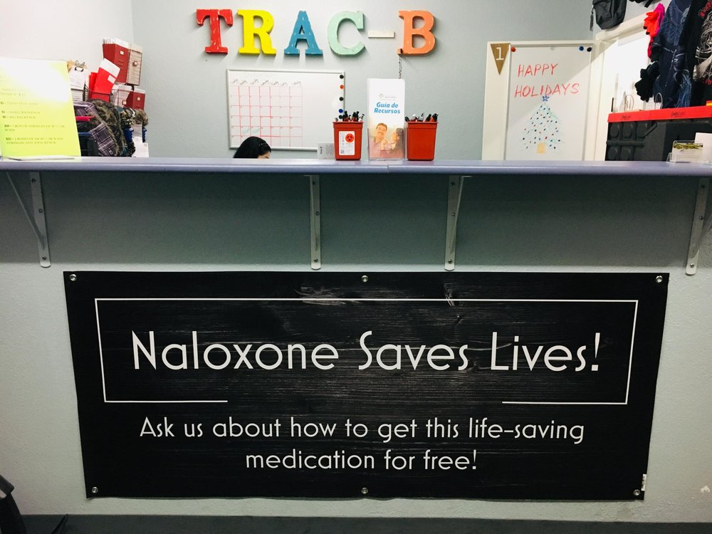 About Trac-B - Trac-B Harm Reduction Center in Las Vegas is focused on ensuring the health of everyone in Southern Nevada. In 2019, we are working to broaden our scope to include mail-based harm reduction for all Nevadans who inject illicit substances. We are committed to reducing infectious disease transmission and opioid overdose morality through the provision of safer injection supplies, hazardous waste disposal tools, and providing education and resources.