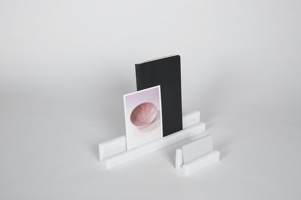Yield Marble Block