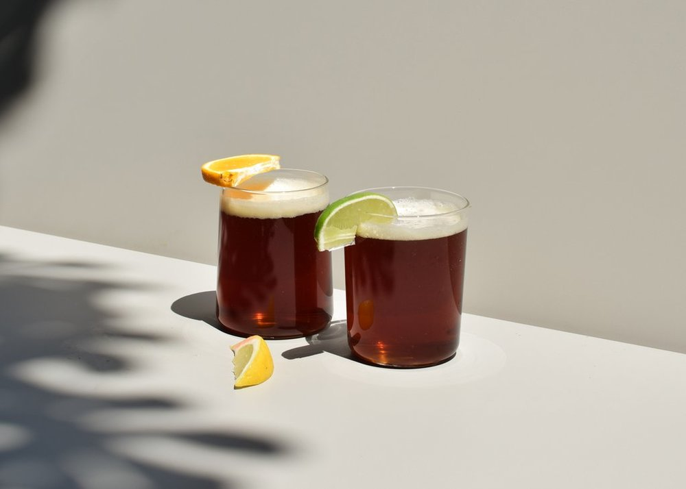 Commonplace Tapered Drinking Glasses