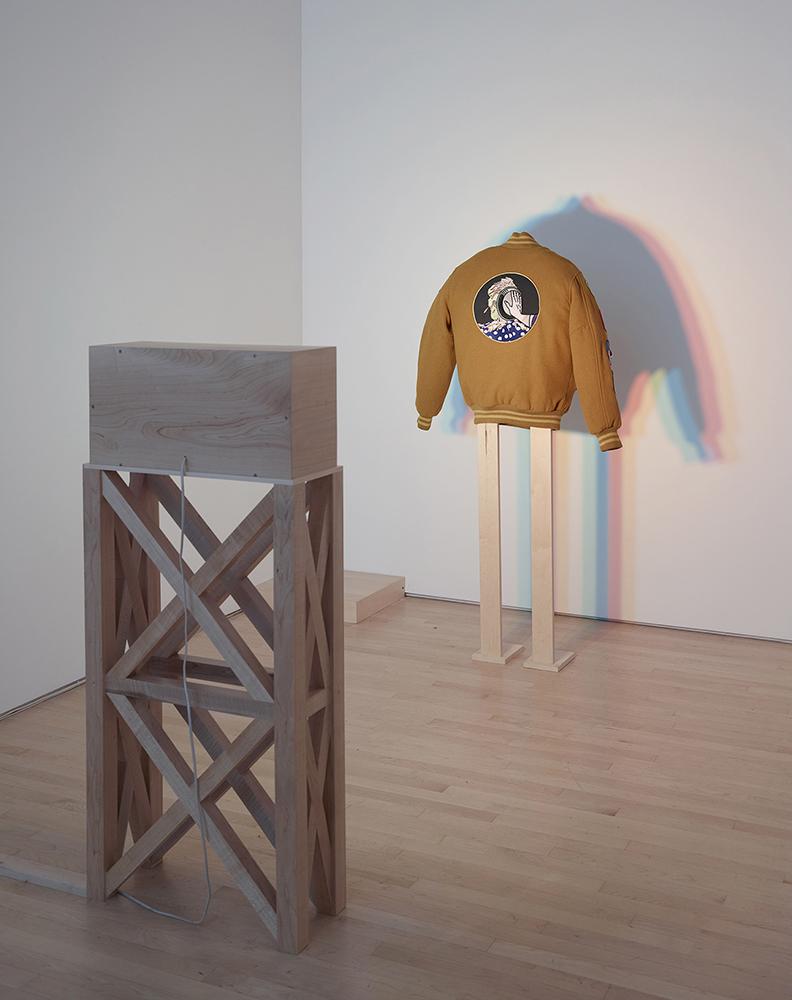 Letterwoman's Jacket & Z-A-N-E-Y Lights