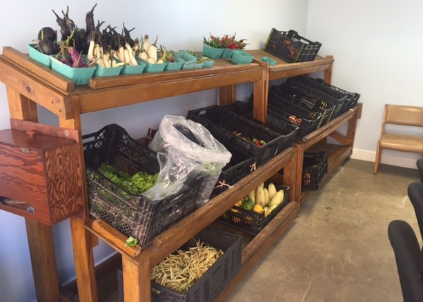 Our Gettysburg Pantry has produce from The Gleaning Project available during pantry hours (typically during the growing season)